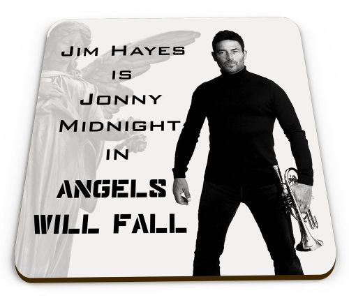 Angels Will Fall - Jonny Midnight (Jim Hayes) Glossy Mug Coaster